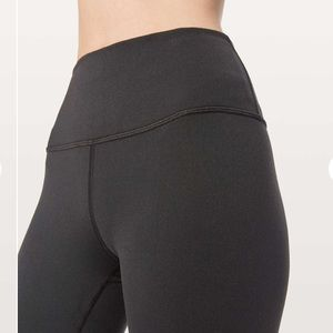 LULULEMON BLACK HIGH RISE WUNDERUNDER LEGGINGS